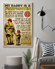 MY DADDY IS A FIREFIGHTER 11x17 Poster lifestyle-poster-1