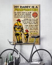 MY DADDY IS A FIREFIGHTER 11x17 Poster lifestyle-poster-7