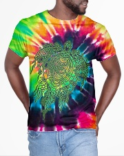 LOVE TURTLE All-over T-Shirt aos-all-over-T-shirt-lifestyle-front-04