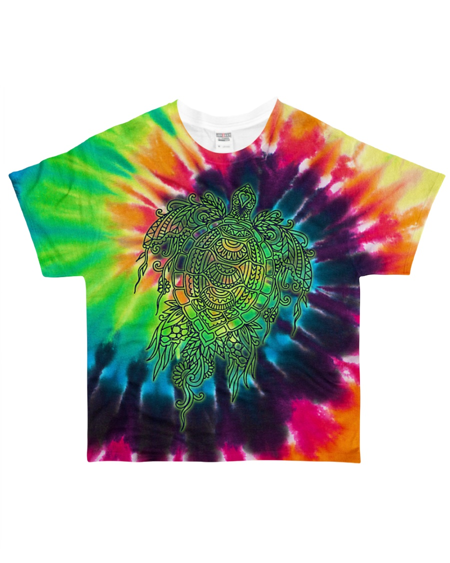 LOVE TURTLE All-over T-Shirt