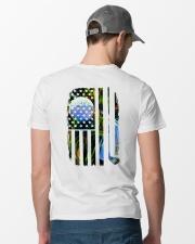 LOVE GOLF  Classic T-Shirt lifestyle-mens-crewneck-back-6