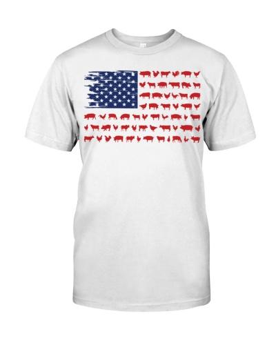 FARM FLAG USA