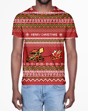 Sprint car Merry Christmas All-over T-Shirt aos-all-over-T-shirt-lifestyle-front-02