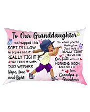 TO OUR GRANDDAUGHTER  Rectangular Pillowcase front