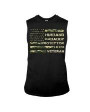 Husband Hero Veteran Sleeveless Tee thumbnail