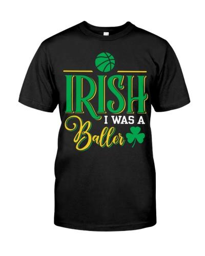 Irish i was a baller Basketball