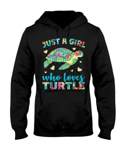 JUST A GIRL WHO LOVES TURTLE
