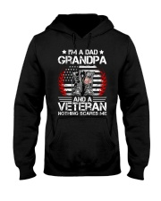 I'm a Dad Grandpa and a Veteran Hooded Sweatshirt tile