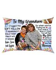 TO MY GRANDSON Rectangular Pillowcase front