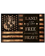 Proud to Be a Marine 17x11 Poster front