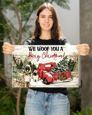 WE WOOF YOU A HAIRY CHRISTMAS 17x11 Poster poster-landscape-17x11-lifestyle-19