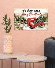 WE WOOF YOU A HAIRY CHRISTMAS 17x11 Poster poster-landscape-17x11-lifestyle-21