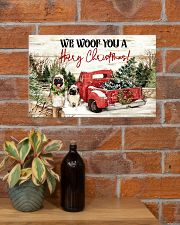 WE WOOF YOU A HAIRY CHRISTMAS 17x11 Poster poster-landscape-17x11-lifestyle-23