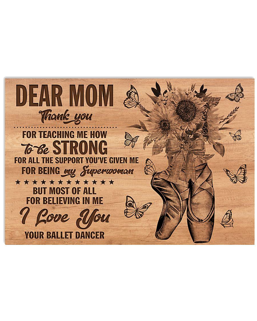 DEAR MOM 17x11 Poster