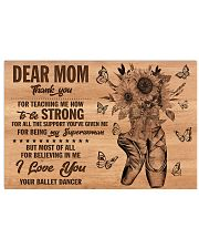 DEAR MOM 17x11 Poster front