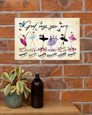 LOVE BALLET 17x11 Poster poster-landscape-17x11-lifestyle-23