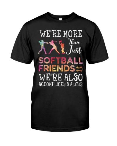 Softball friends