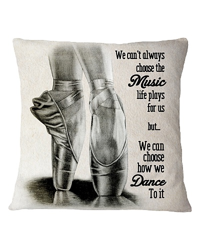 LIMITED EDITION BALLET PILLOW