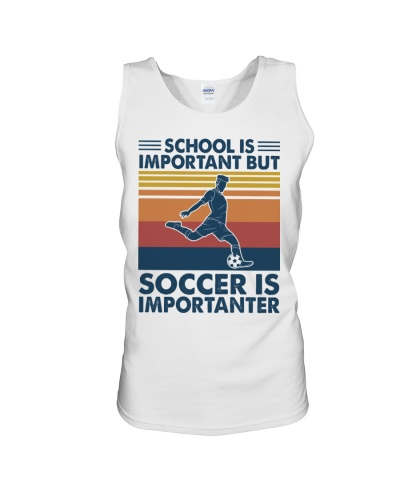 SCHOOL IS IMPORTANT BUT SOCCER IS IMPORTANTER