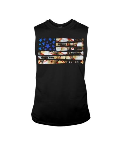BASEBALL FLAG USA