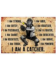 I AM A CATCHER 17x11 Poster front