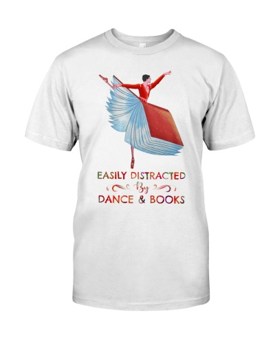 Easily distracted by Dance and Books man