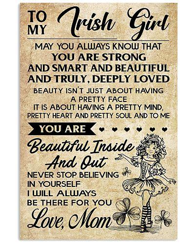 TO MY IRISH GIRL