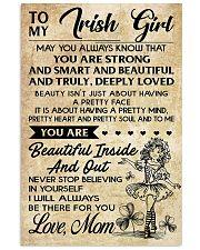 TO MY IRISH GIRL  11x17 Poster front