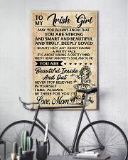 TO MY IRISH GIRL  11x17 Poster lifestyle-poster-7