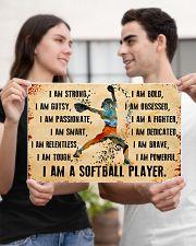 I AM A SOFTBALL 17x11 Poster poster-landscape-17x11-lifestyle-20