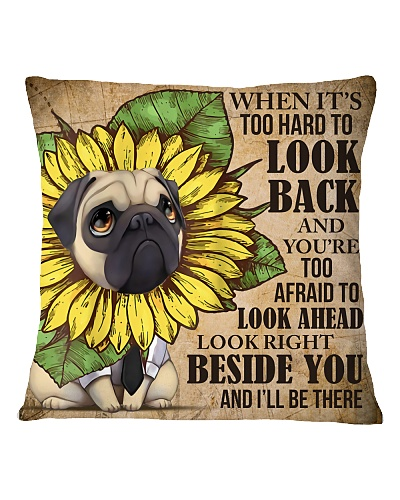 LIMITED EDITION PUG PILLOW