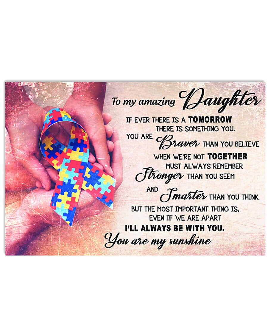 TO MY AMAZING DAUGHTER 17x11 Poster