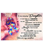 TO MY AMAZING DAUGHTER 17x11 Poster front