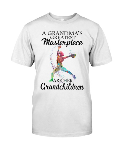 A GRANDMA'S GREATEST MASTERPIECE ARE HER