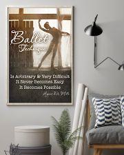BALLET TECHNIQUE 11x17 Poster lifestyle-poster-1
