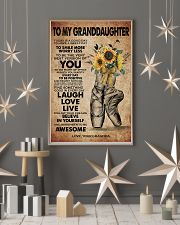 TO MY GRANDDAUGHTER  11x17 Poster lifestyle-holiday-poster-1