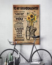 TO MY GRANDDAUGHTER  11x17 Poster lifestyle-poster-7