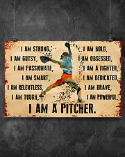 I AM A PITCHER 17x11 Poster poster-landscape-17x11-lifestyle-12