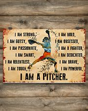 I AM A PITCHER 17x11 Poster poster-landscape-17x11-lifestyle-14