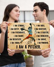 I AM A PITCHER 17x11 Poster poster-landscape-17x11-lifestyle-20