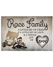 Race Family 17x11 Poster front