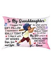 TO MY GRANDDAUGHTER NANA Rectangular Pillowcase front