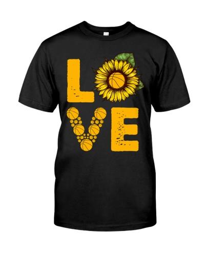 Love Sunflower Basketball