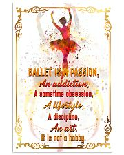 BALLET IS A PASSION  11x17 Poster front