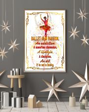 BALLET IS A PASSION  11x17 Poster lifestyle-holiday-poster-1
