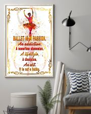 BALLET IS A PASSION  11x17 Poster lifestyle-poster-1
