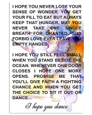 I HOPE YOU DANCE  11x17 Poster front