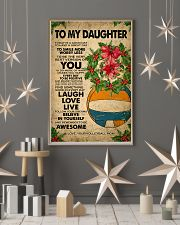 TO MY DAUGHTER  11x17 Poster lifestyle-holiday-poster-1