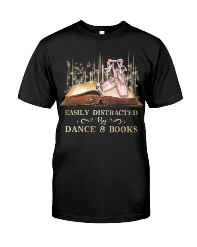EASILY DISTRACTED BY DANCE AND BOOK