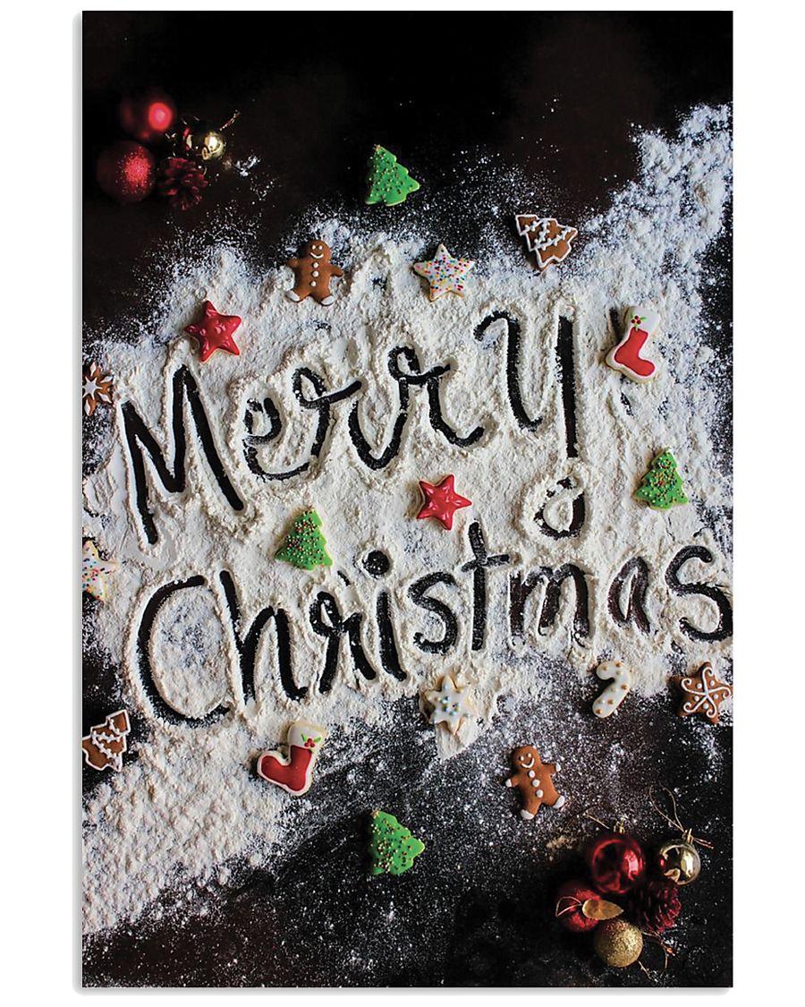 Merry Christmas Nutcracker 11x17 Poster